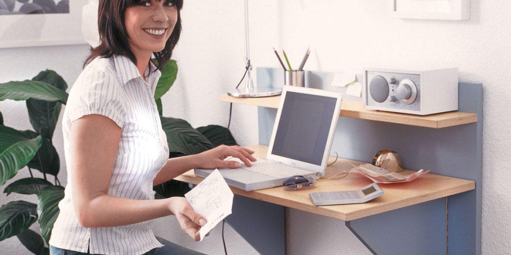 scrivania a scomparsa