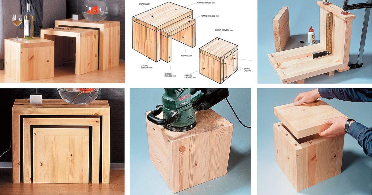 sgabelli in legno