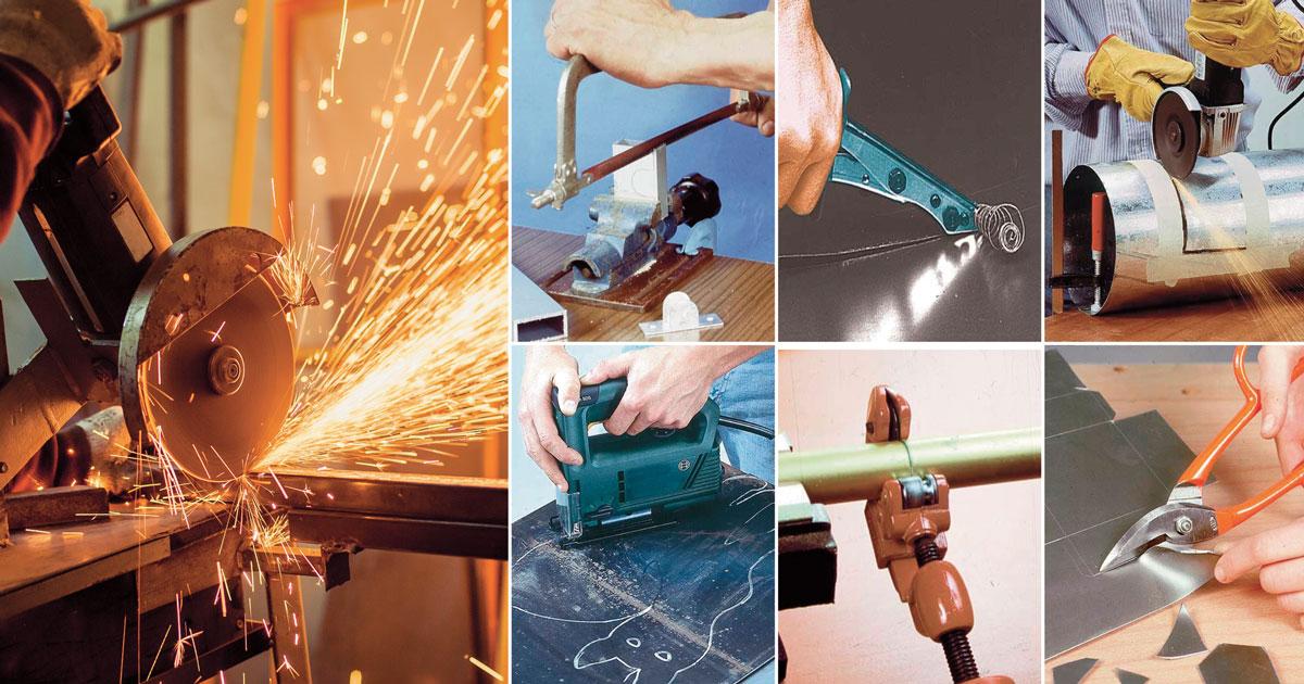 Tagliare il ferro e alluminio | Gli utensili da utilizzare