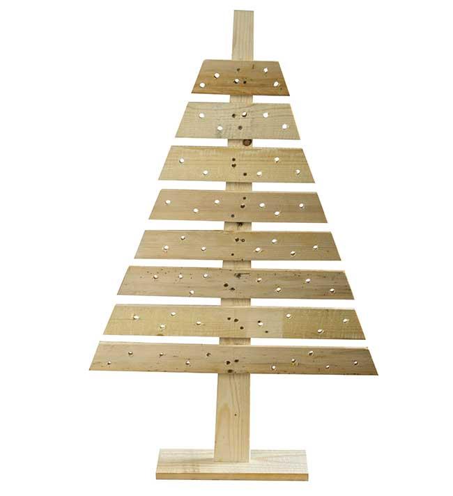Albero Di Natale Legno Fai Da Te.Albero Di Natale Con Pallet Fai Da Te Guida Alla Costruzione