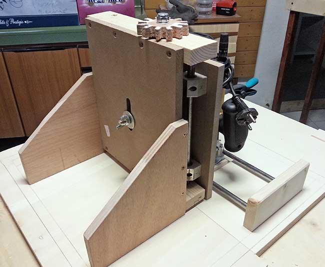 Banco fresa fai da te autocostruito progetto e motorizzazione fresa - Tornio per legno fatto in casa ...