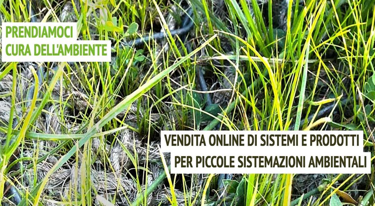 Sistemi e prodotti per piccole sistemazioni ambientali