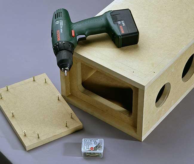 Costruire casse acustiche fai da te in legno mdf for Scarpiera fai da te chiusa