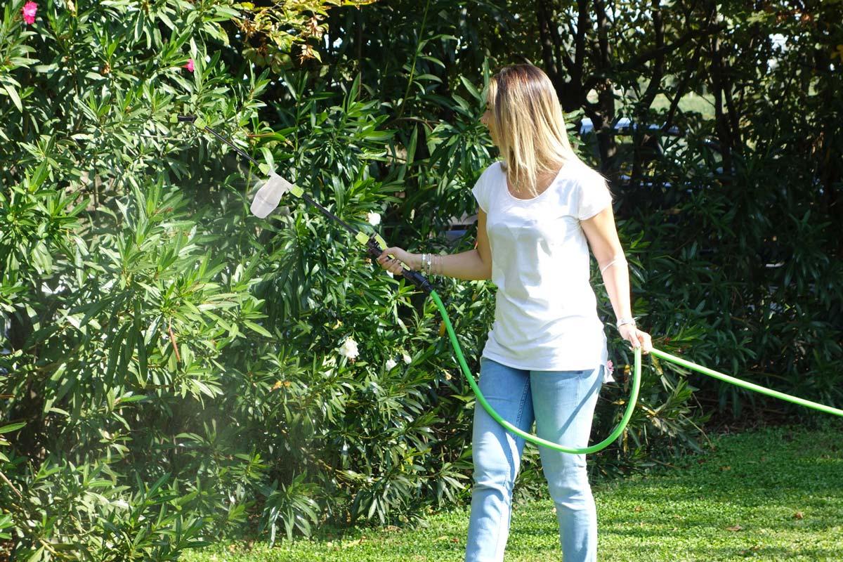 Irrorare 100 m² di piante in un solo minuto | Ecco come si fa
