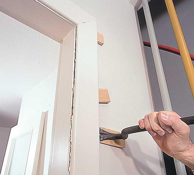 Apertura di una porta in un muro portante interno - Apertura di una porta in un muro portante interno ...