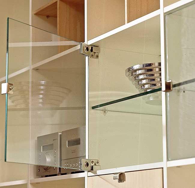 cerniere per ante di vetro