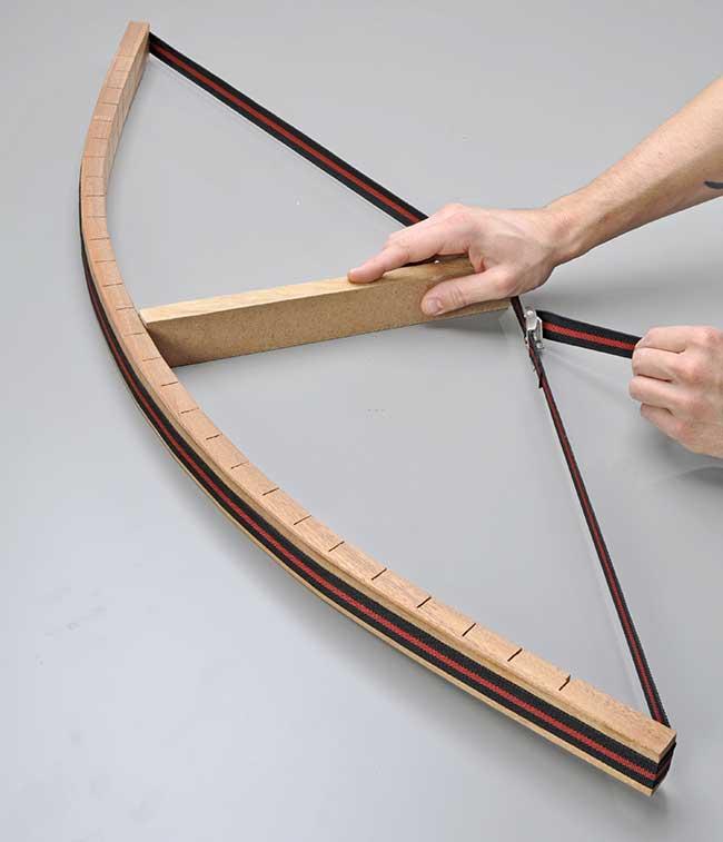 piegatura legno con tagli