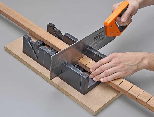 guida di taglio per legno
