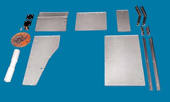 Porta carta igienica fai da te da muro in alluminio e plexiglas - Dove mettere il porta carta igienica ...