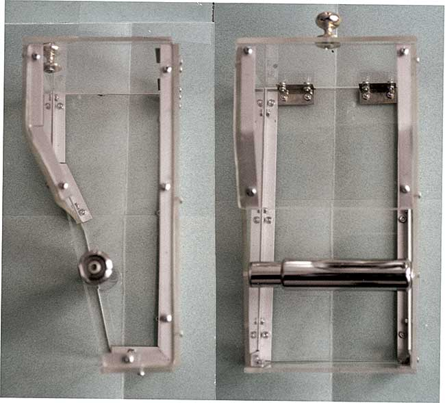 Porta carta igienica fai da te da muro in alluminio e plexiglas - Porta carta igienica design ...