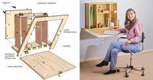 Tavolino a ribalta fai da te in legno multistrato | Come costruirlo