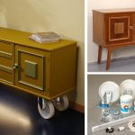 Mobile buffet fai da te con ruote piroettanti | Guida alla costruzione
