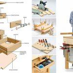 Tavolo da lavoro salvaspazio | Come costruirlo accessoriato