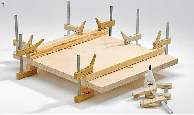 Tavolo Da Lavoro Keter : Come si costruisce un tavolo da lavoro in legno disegni e foto