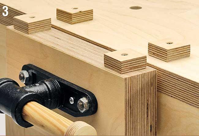 Banco Da Lavoro Kupper : Come si costruisce un tavolo da lavoro in legno disegni e foto