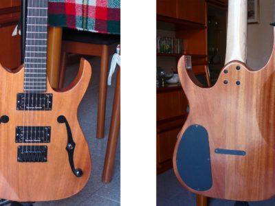 costruire una chitarra elettrica