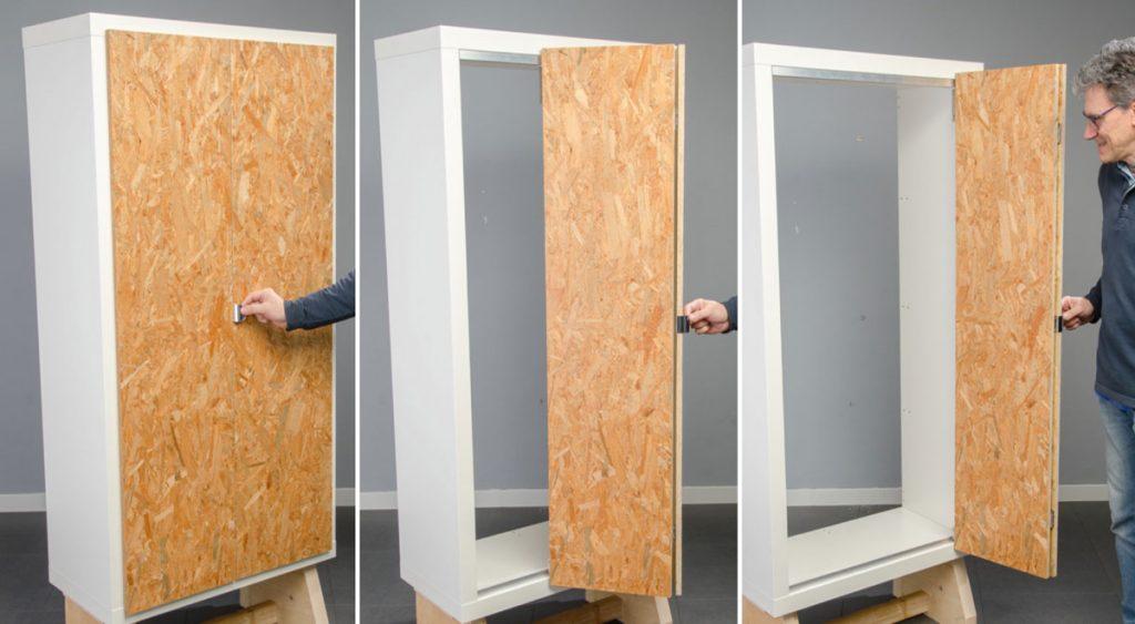 Kit ante scorrevole sacar come installarlo senza problemi - Ante mobili fai da te ...