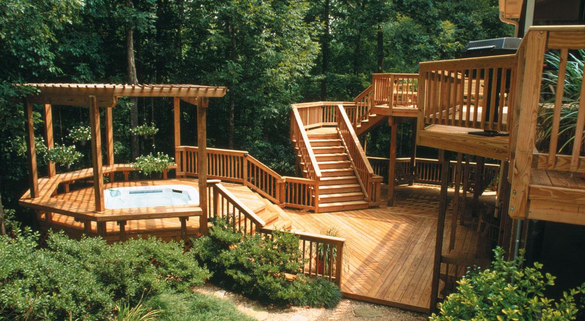 Protezione legno esterno dagli agenti atmosferici