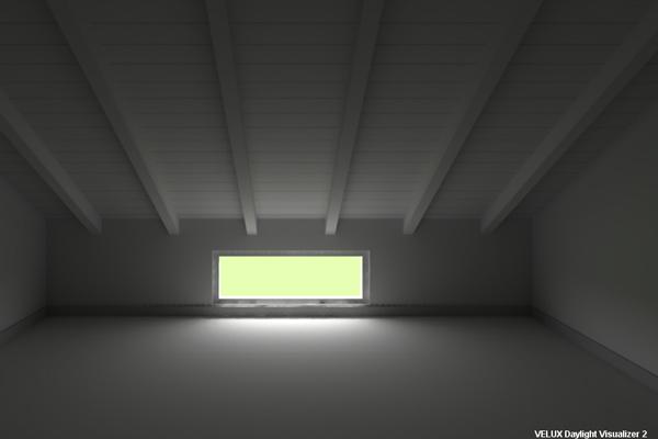 Illuminazione mansarda con led faretti per travi a vista con