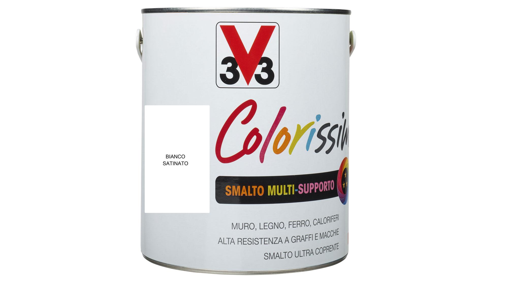 Smalto all'acqua multisupporto | La nuova gamma Colorissim di V33