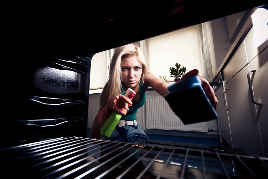 pulire il forno