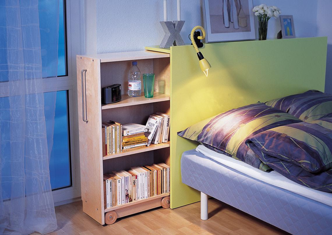 Libreria Scorrevole Fai Da Te testiera del letto a scomparsa | costruzione fai da te