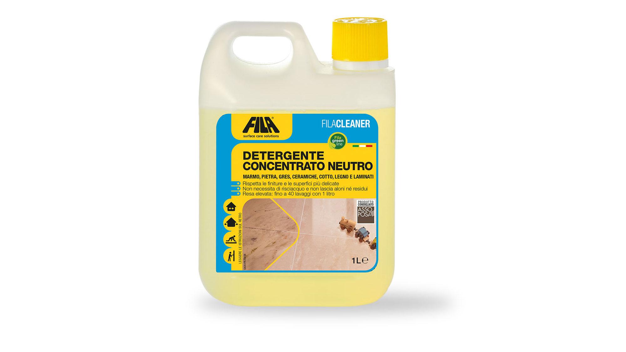 FILACLEANER Detergente concentrato neutro | Caratteristiche e utilizzo