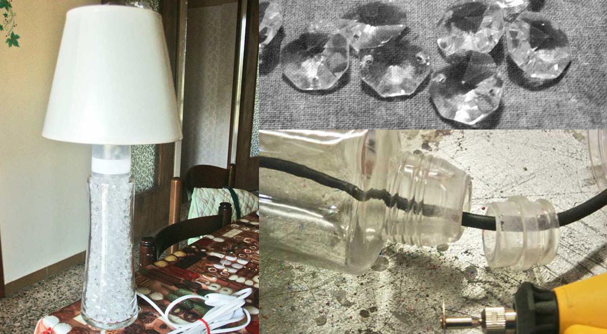 Lampade con bottiglie in vetro | La guida dettagliata