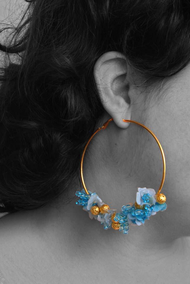 orecchini fai da te