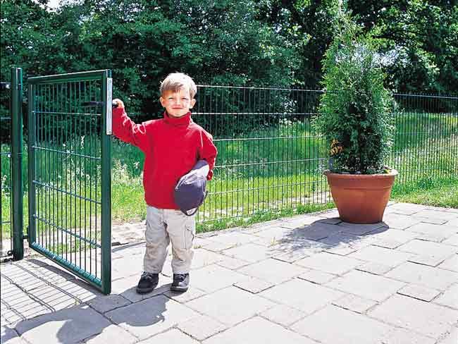 recinzione metallica