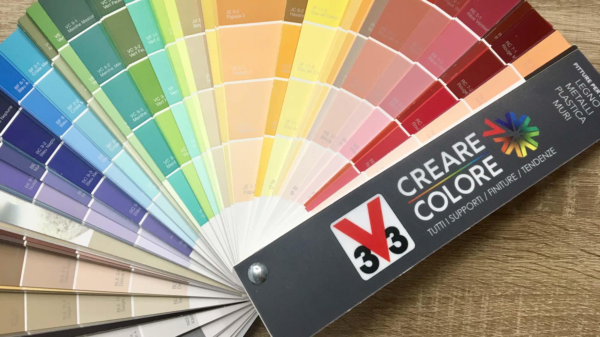 Crea il tuo colore con V33
