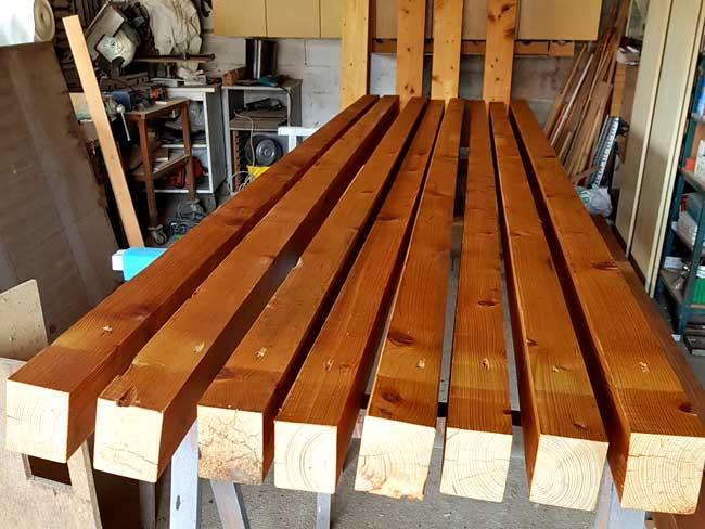 cosa occorre per costruire la tettoia in legno