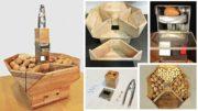 Schiaccianoci in legno