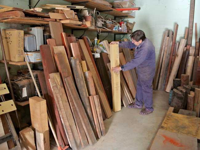 legno per penne