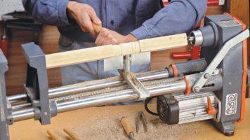 tornio per legno