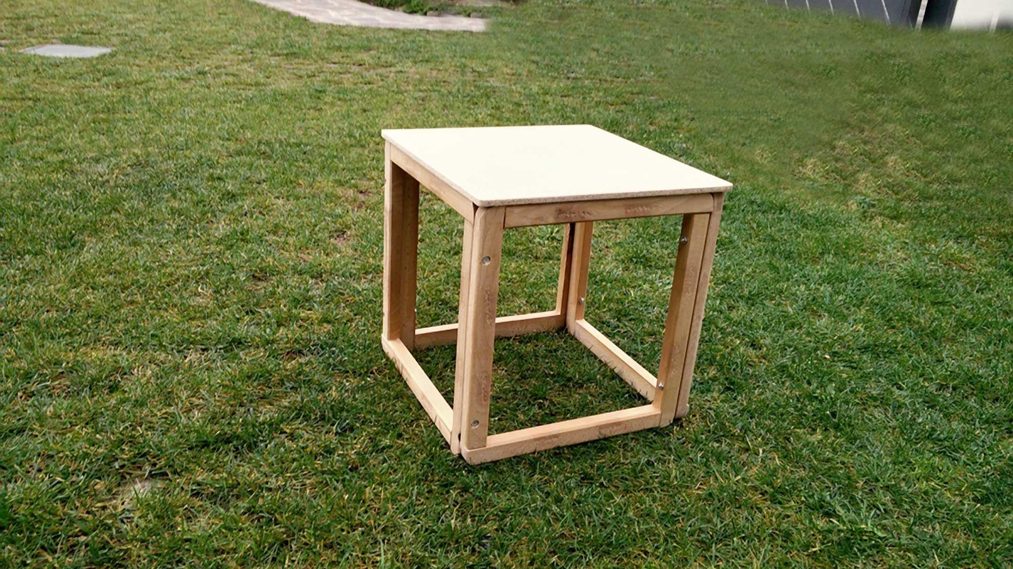 Cubi di legno fai da te | Recupero di vecchie sedute