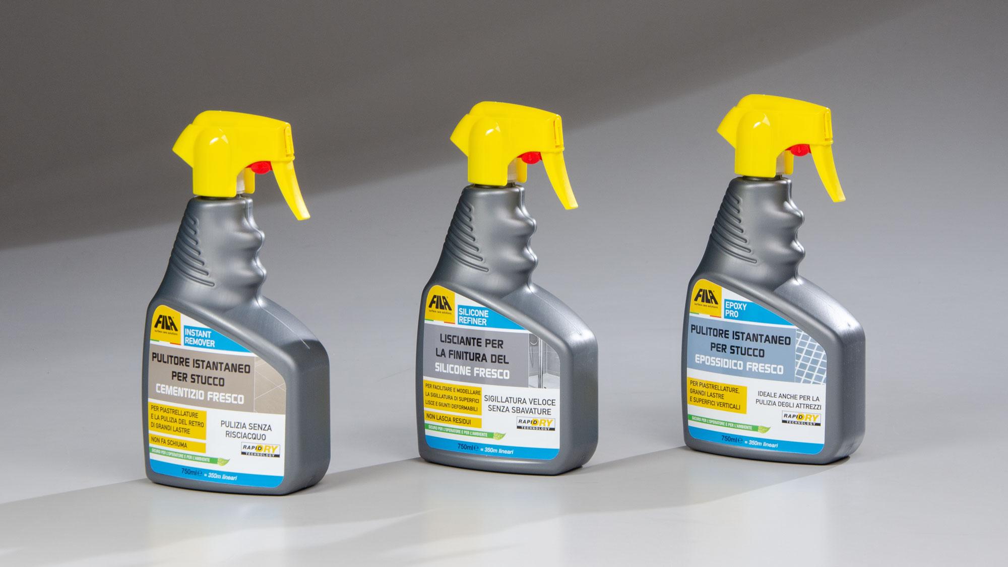 Soluzioni per la pulizia dopo la posa | Prodotti FILA