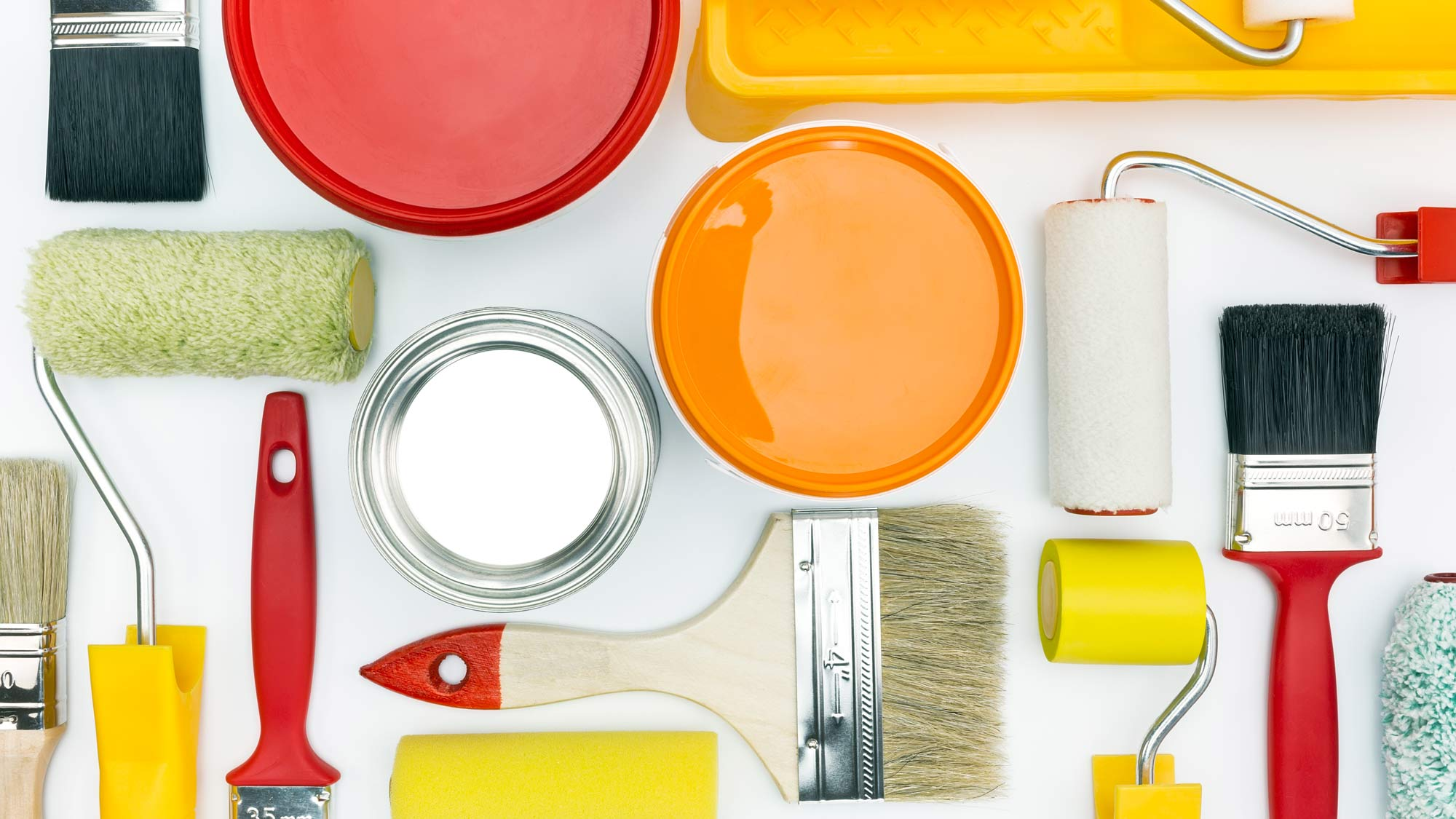 Dipingere casa | Attrezzatura e tecniche di tinteggiatura