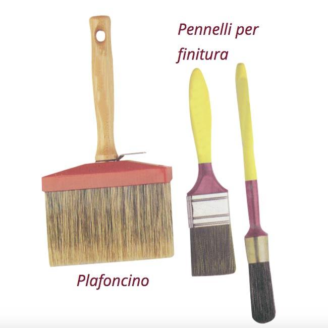 plafoncino pennellessa pennello tondo