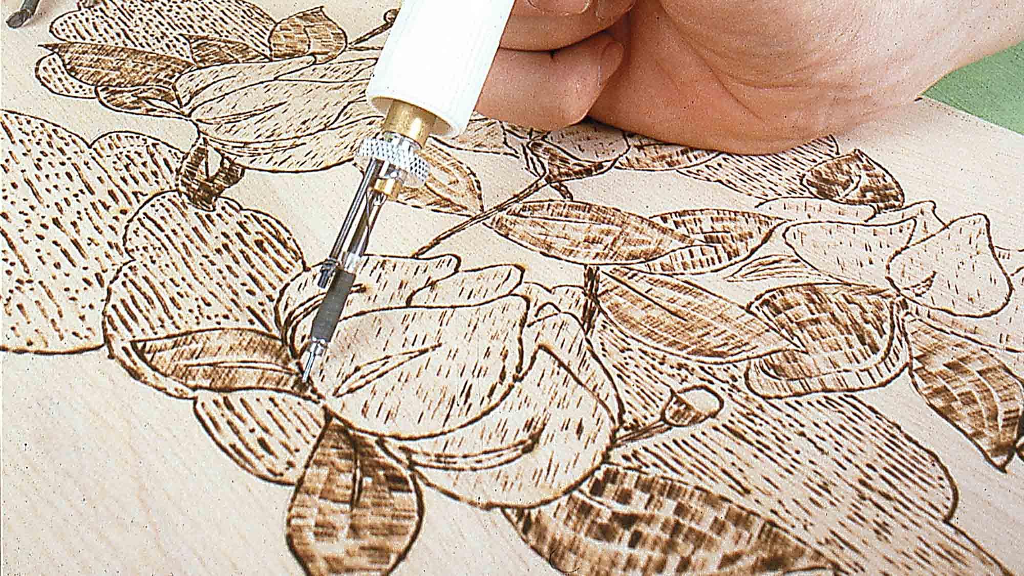 Pirografo per legno | Come si usa
