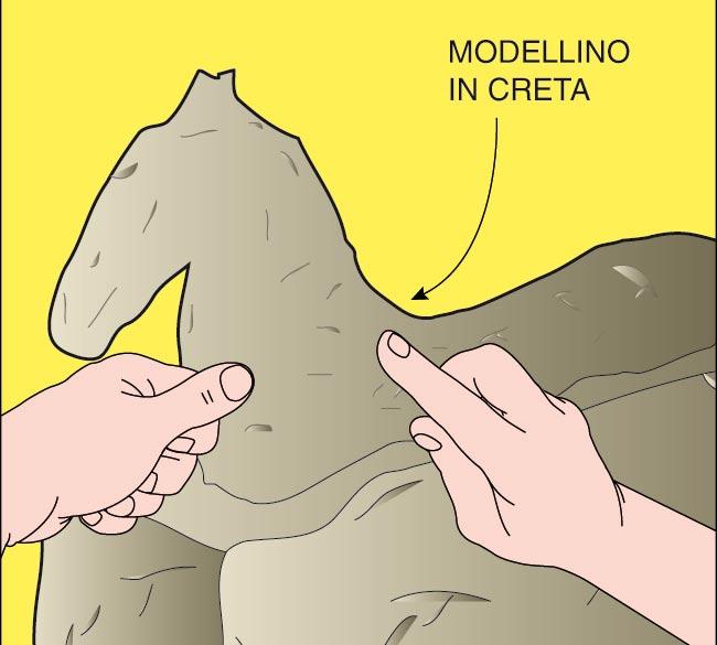 modellino di creta