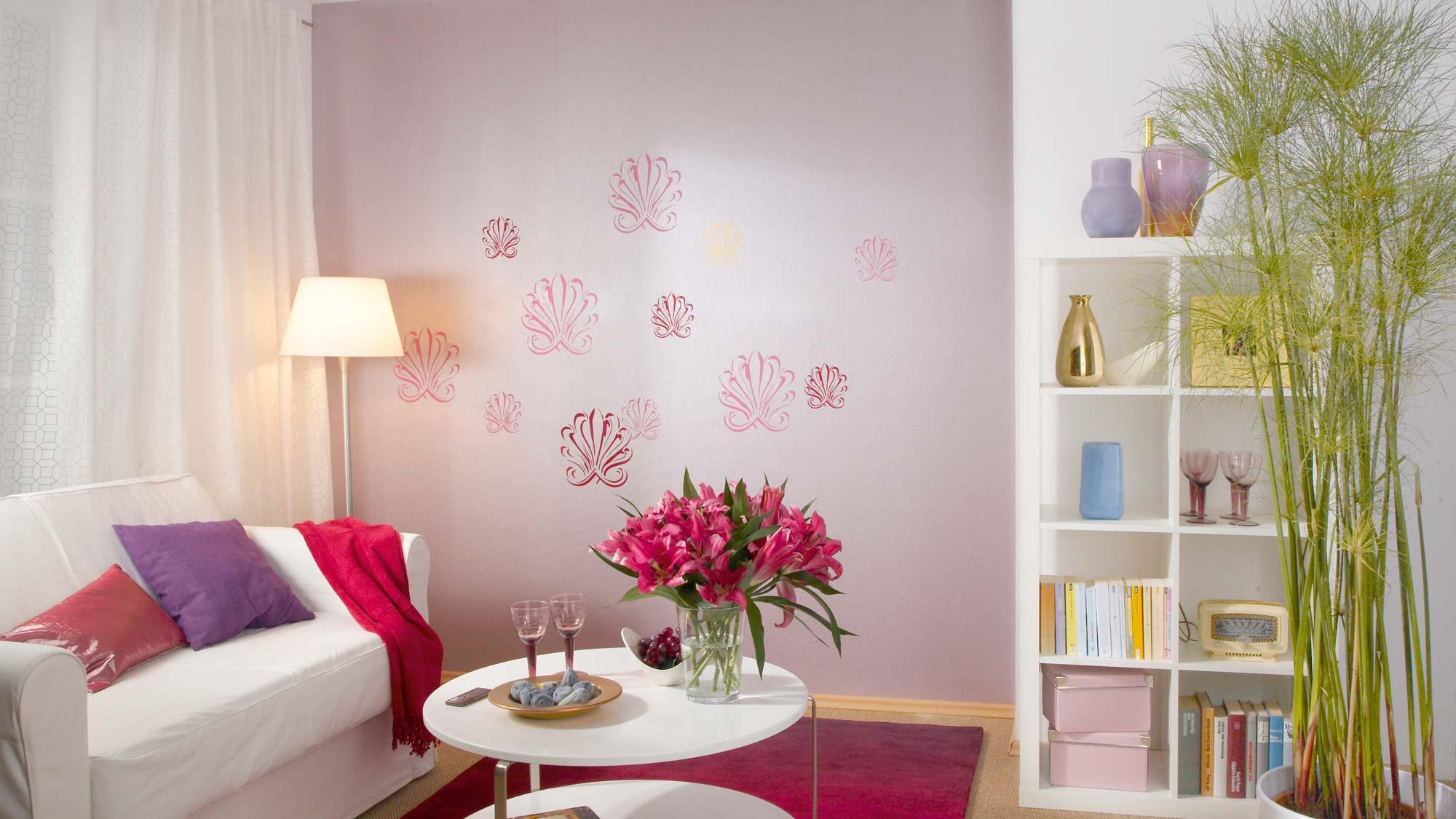 Stencil per pareti | Come decorare i muri di casa