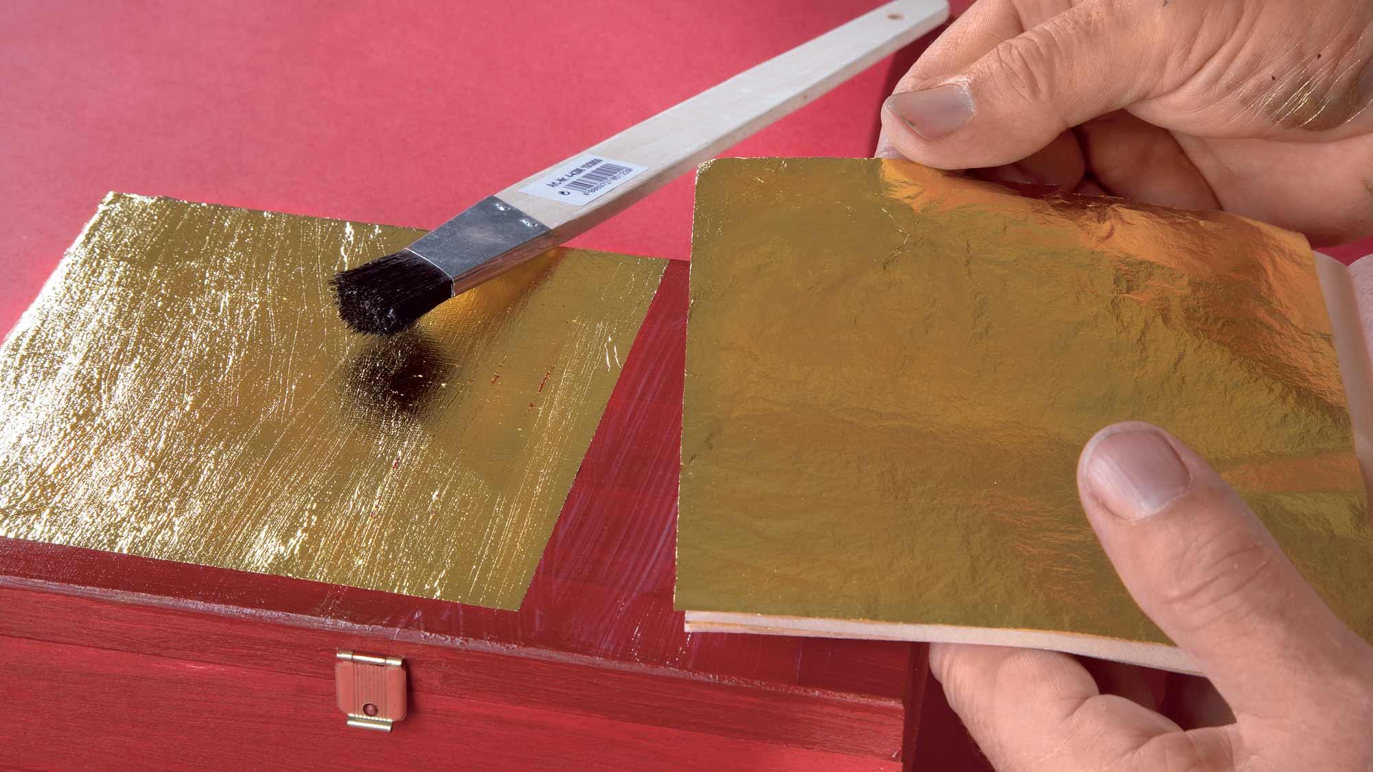 Foglia d'oro per decoupage su legno | Tipologie e utilizzi