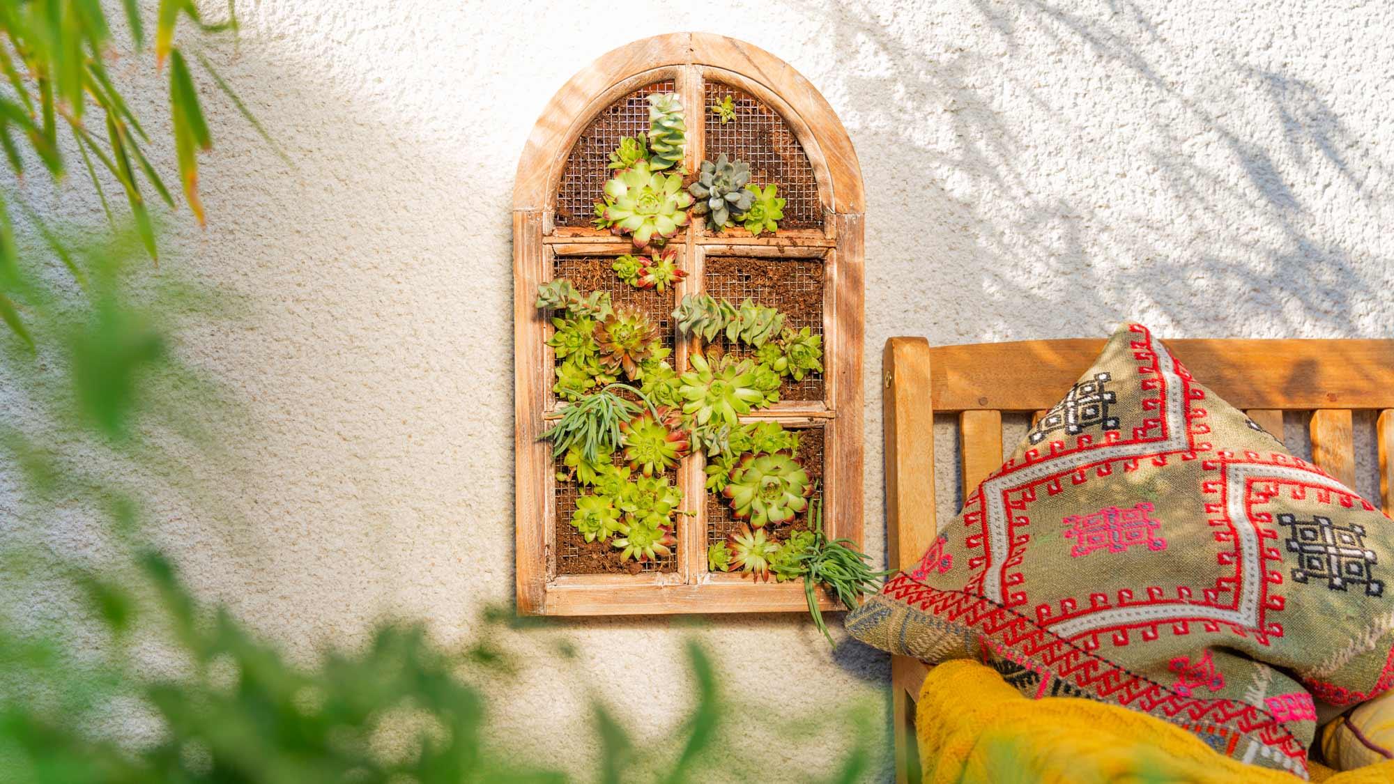 Giardino verticale fai da te | Realizzazione illustrata
