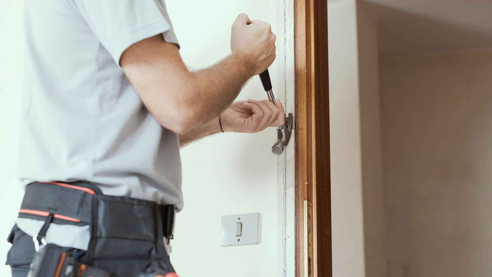 Eliminare una porta col cartongesso