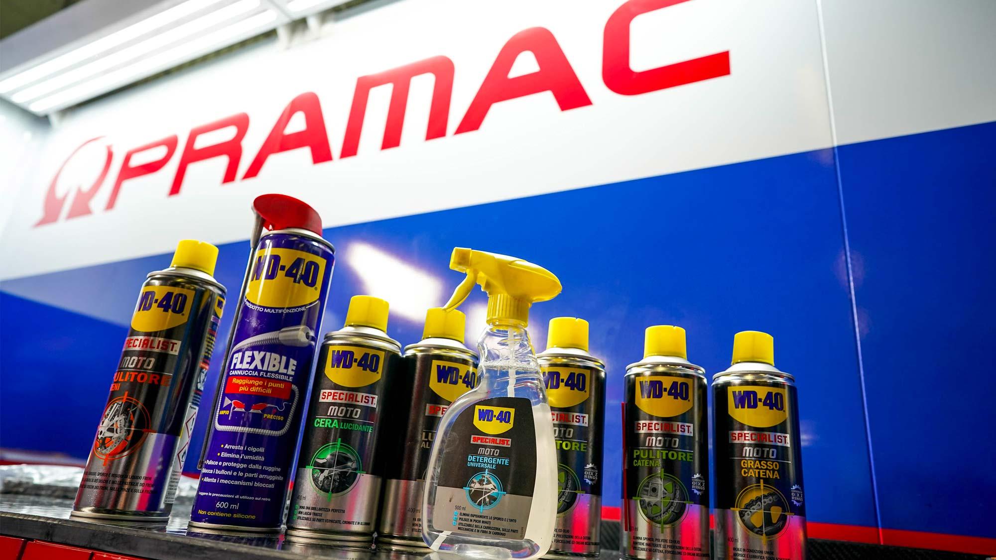Pramac Racing e WD-40, insieme anche per la stagione 2020