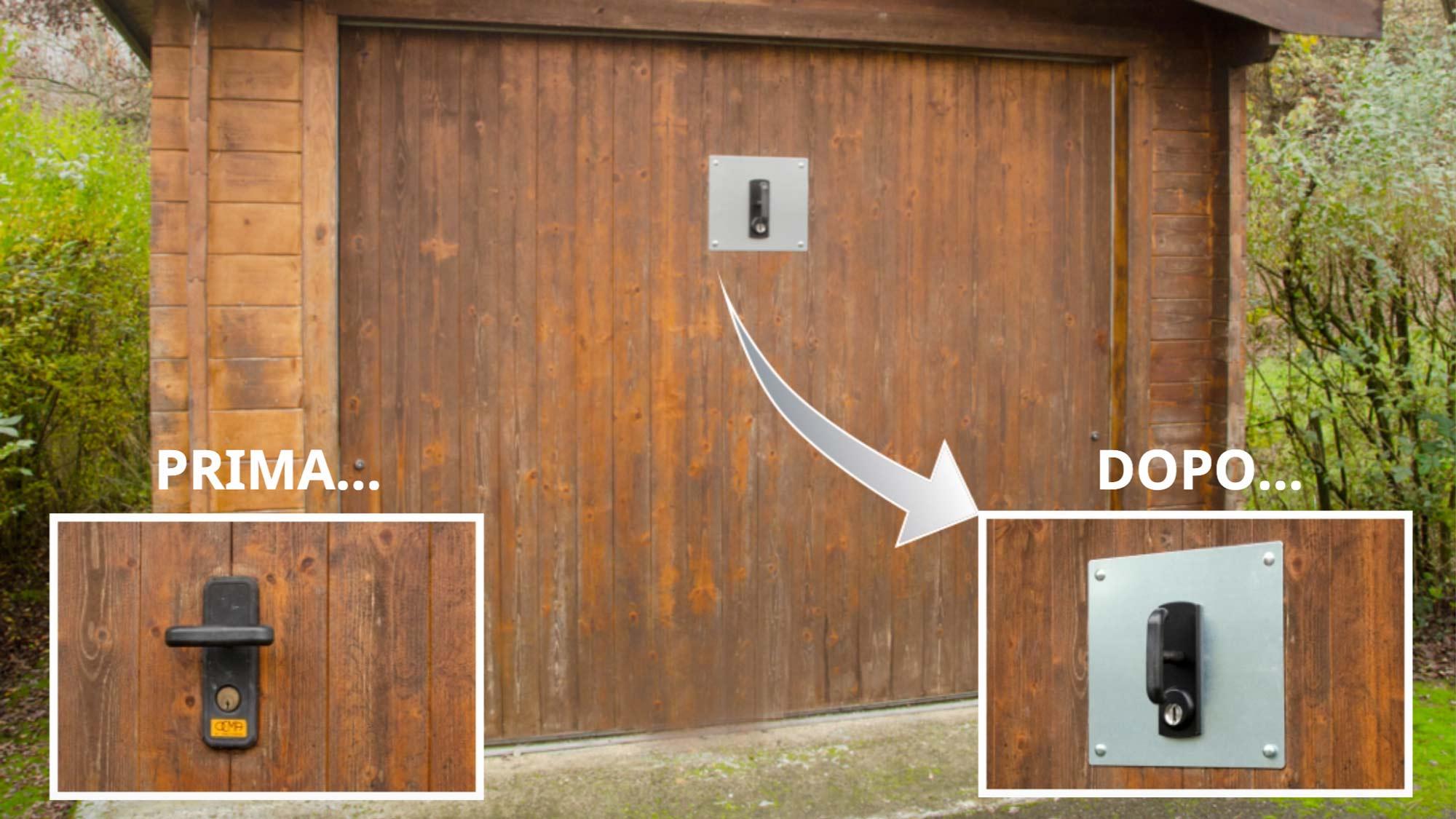 Piastra di rinforzo per garage sicuro | Sacar