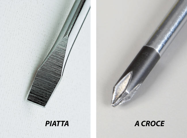 cacciavite utensile punte