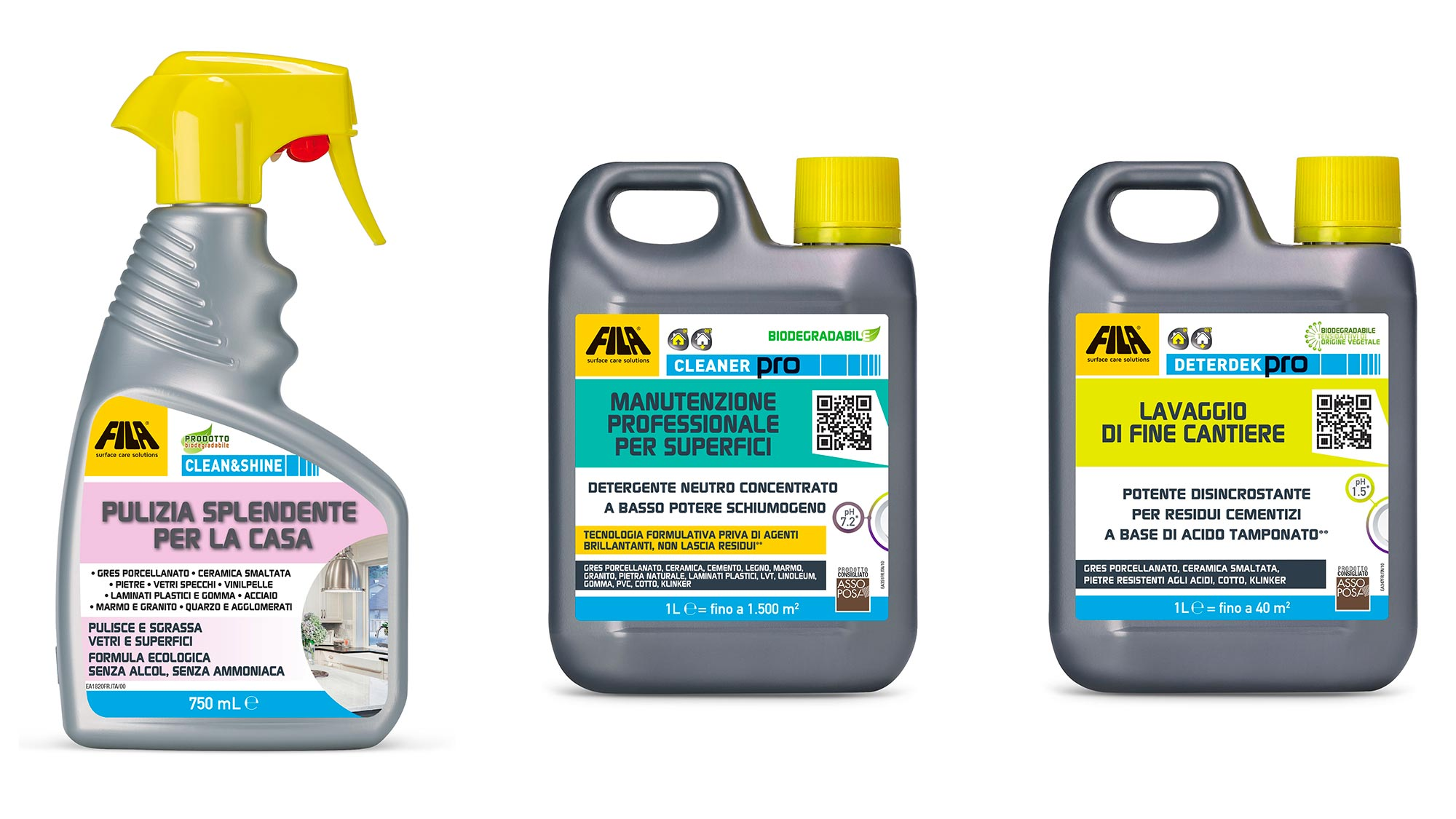 La corretta pulizia per un ambiente sanificato | FILA Surface Care Solutions