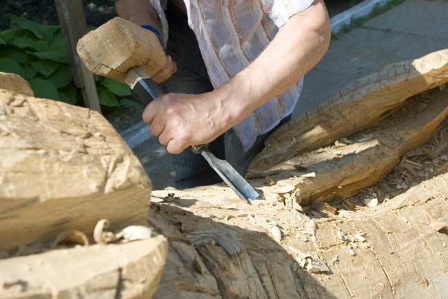 sgorbia per legno